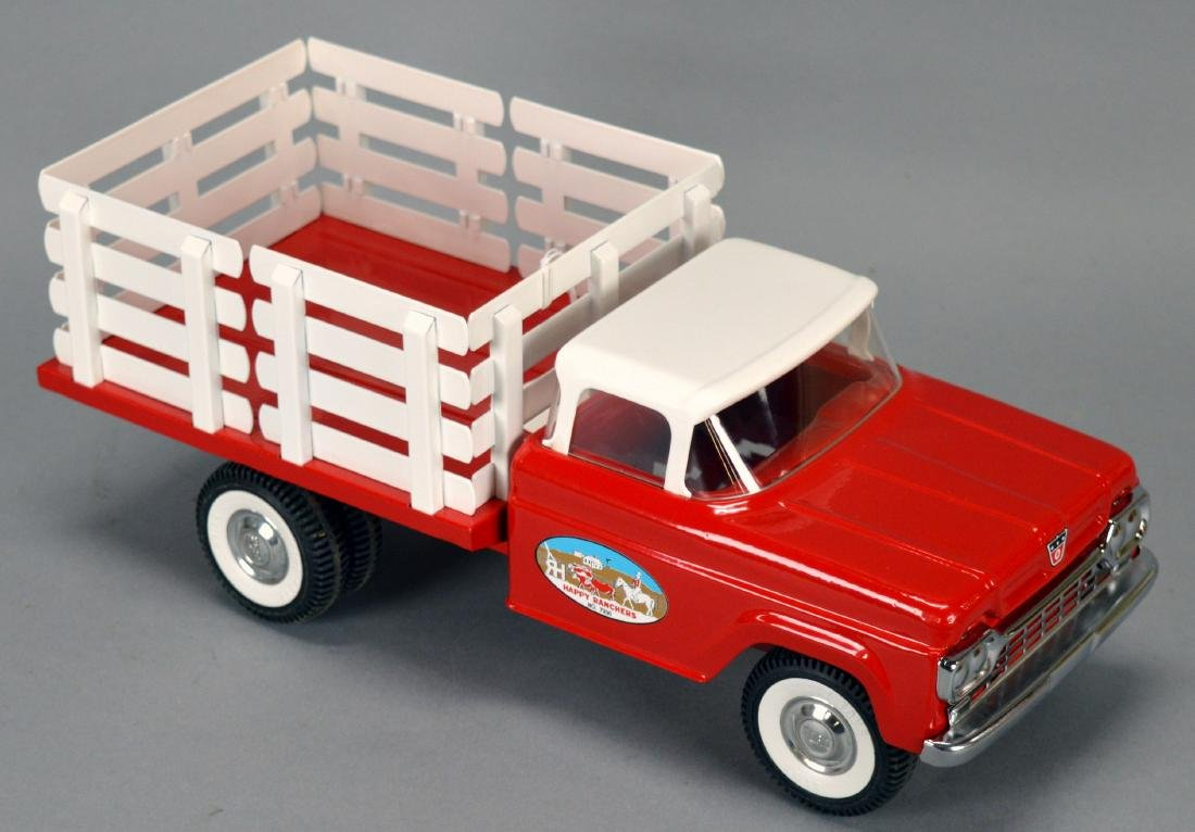 """Nylint Restored 1/16Th-Scale """"Happy Rancher"""" 1960 Ford"""