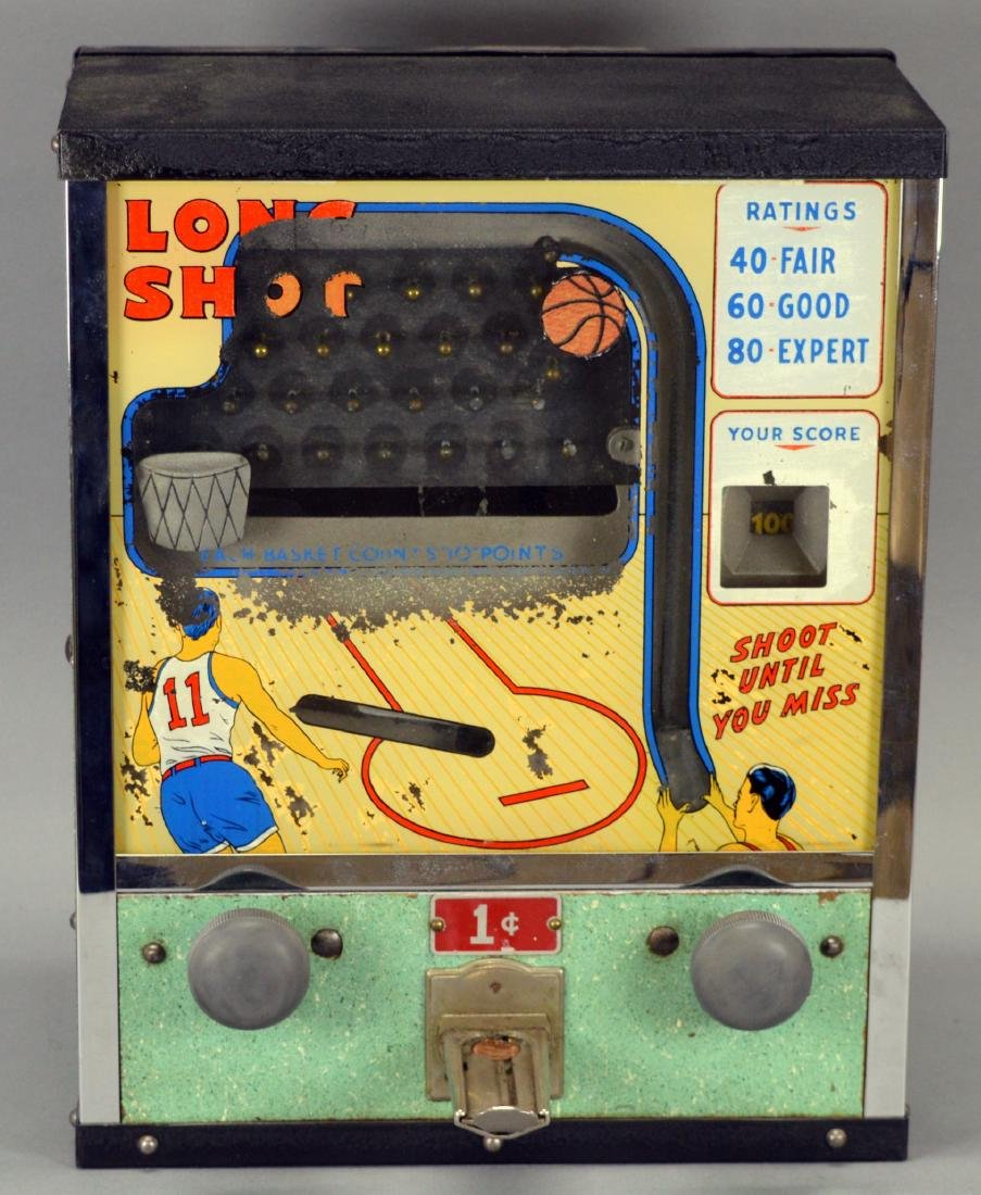Long Shots Coin Operated Game