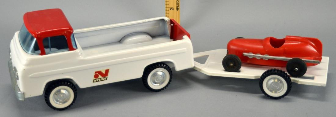 Nylint Ford Pickup Truck With Matching Nylint Trailer