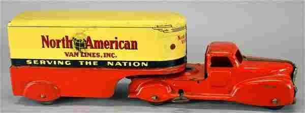 North American Van Lines Truck And Trailer