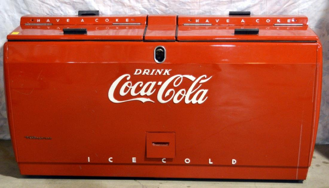 Westinghouse Coca-Cola Counter Cooler