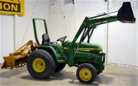 John Deere 790 4X4 Utility Tractor