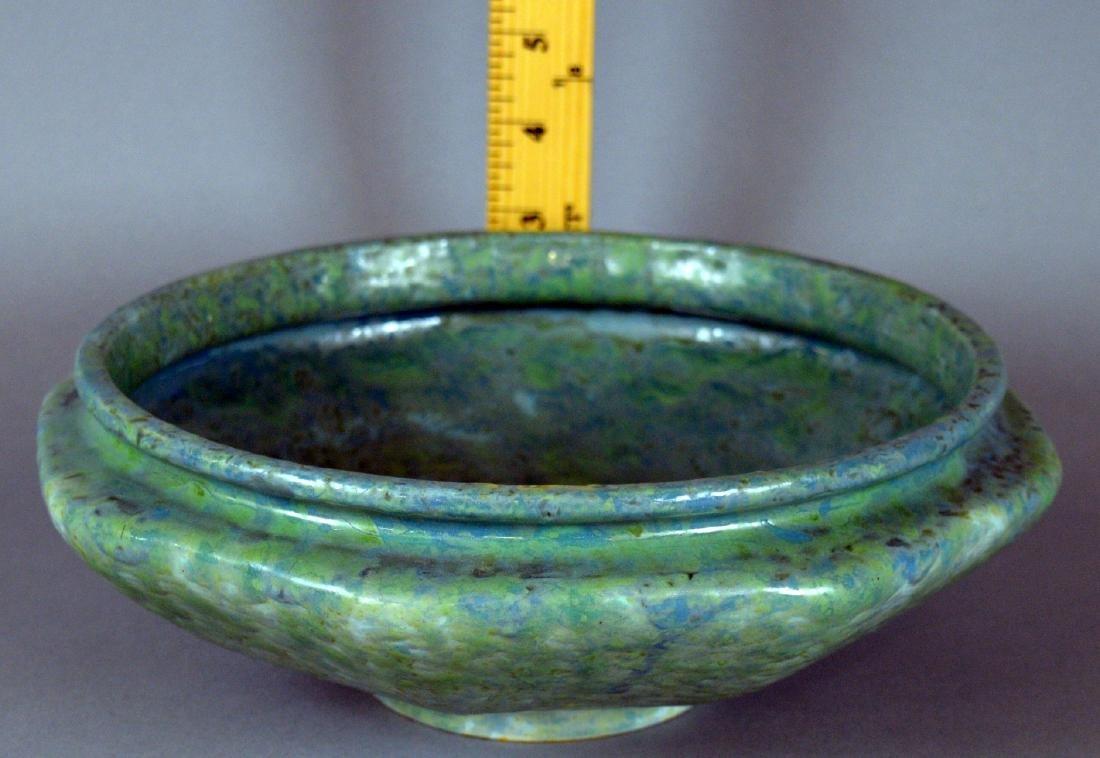Roseville Carnelian Bowl
