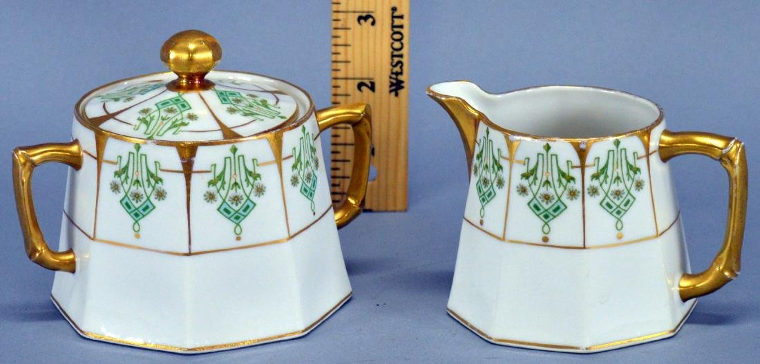 Limoges Creamer And Sugar