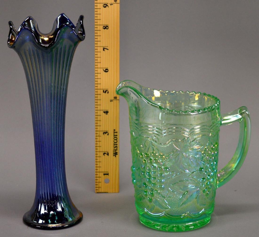 Imperial Grape Milk Pitcher & Vase