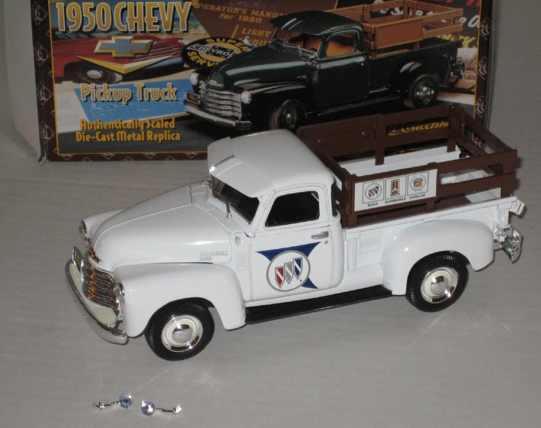 Ertl Boxed 1950 Chevrolet Buick Dealership Truck