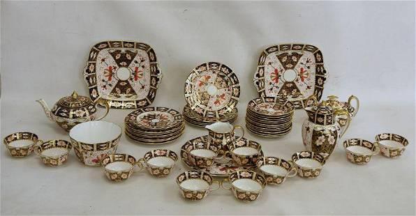 Royal Crown Derby Imari pattern teaset, no.2451, viz:-