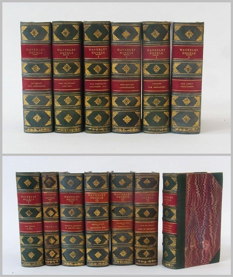 Fine bindings  Scott, Sir Walter ''The Waverley Novels'