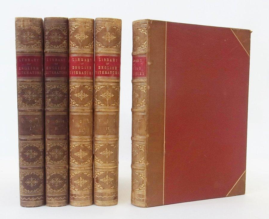 Fine binding Morley, Henry ''Library of English Literat