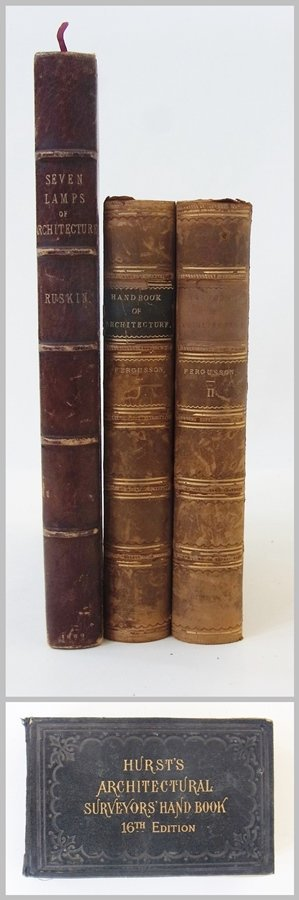 Ruskin, John ''The Seven Lamps of Architecture'', sixth