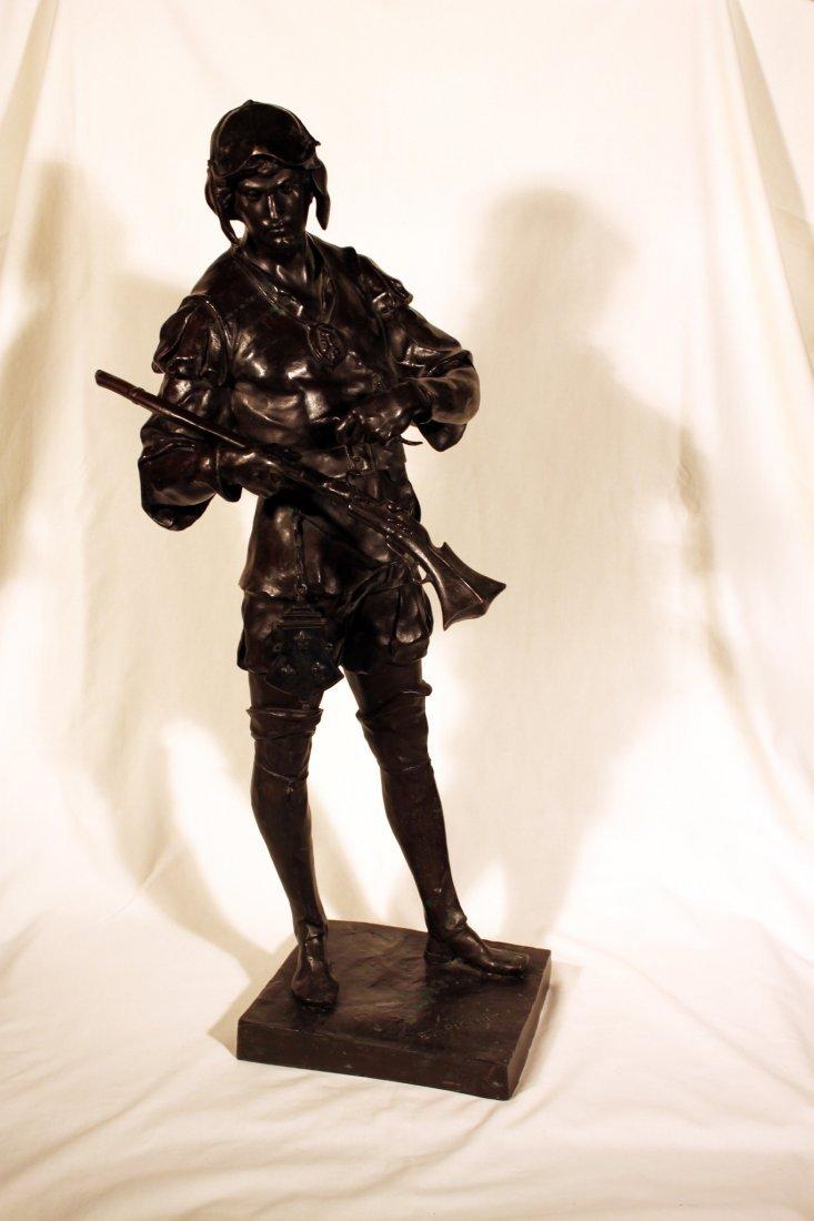 Emile-Louis Picault - French Hunter (1833-1915)