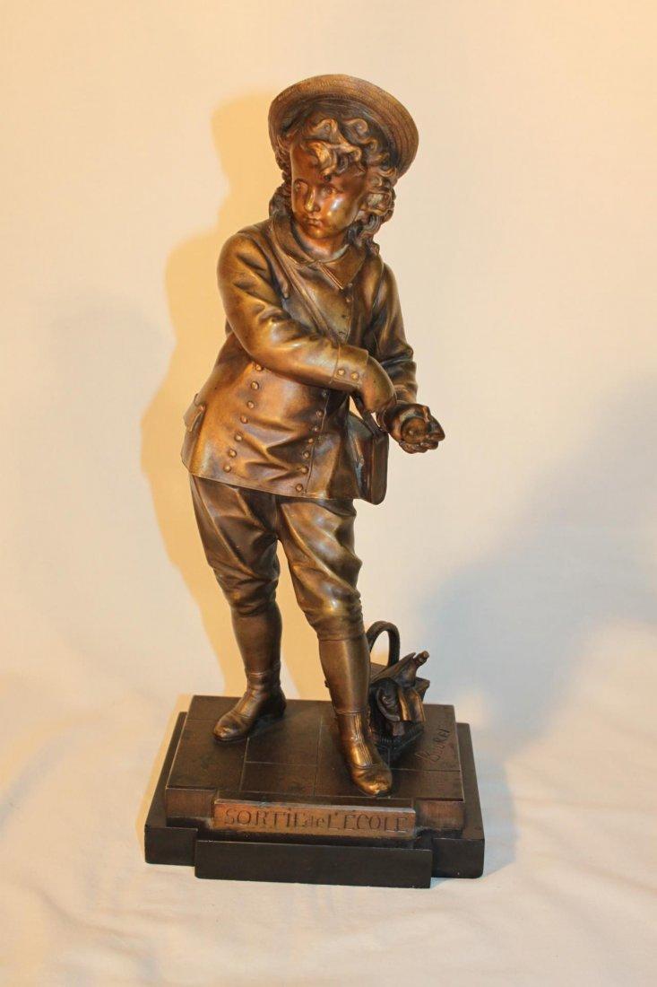 Eutrope Bouret (French, 1833 to 1906), Bronze Sculpture