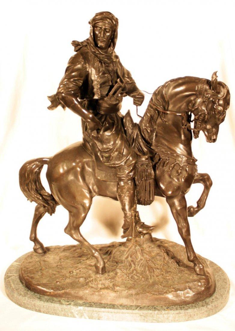 Antoine-Louis Barye - Cavalier Arabe