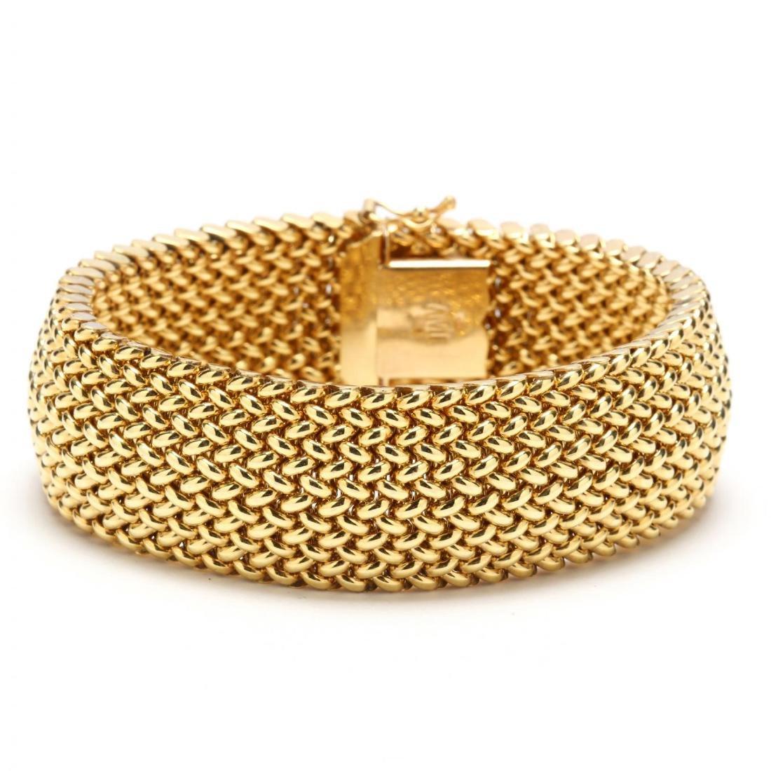 14KT Gold Bracelet, Italian