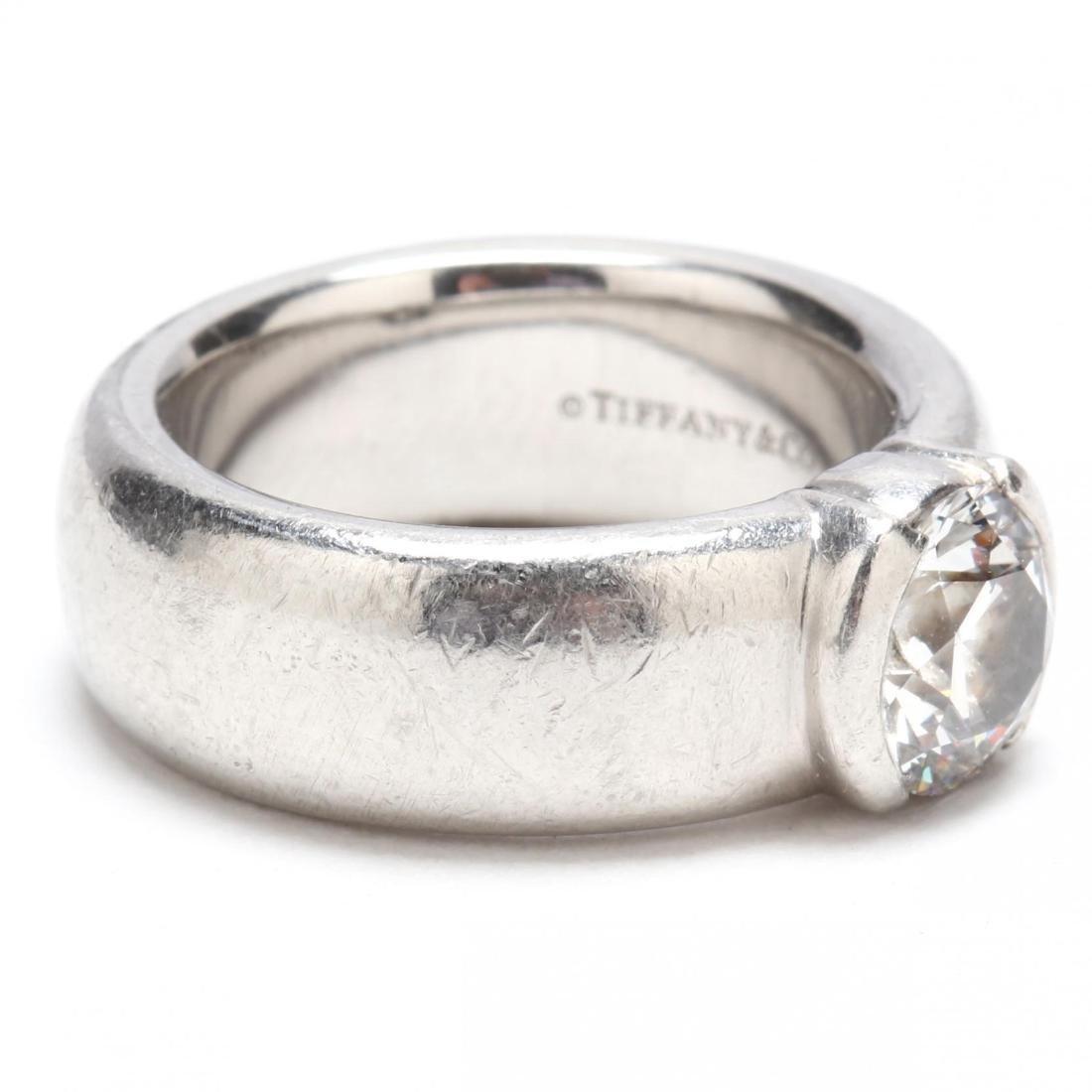 Platinum and Diamond Ring, Tiffany & Co. - 2