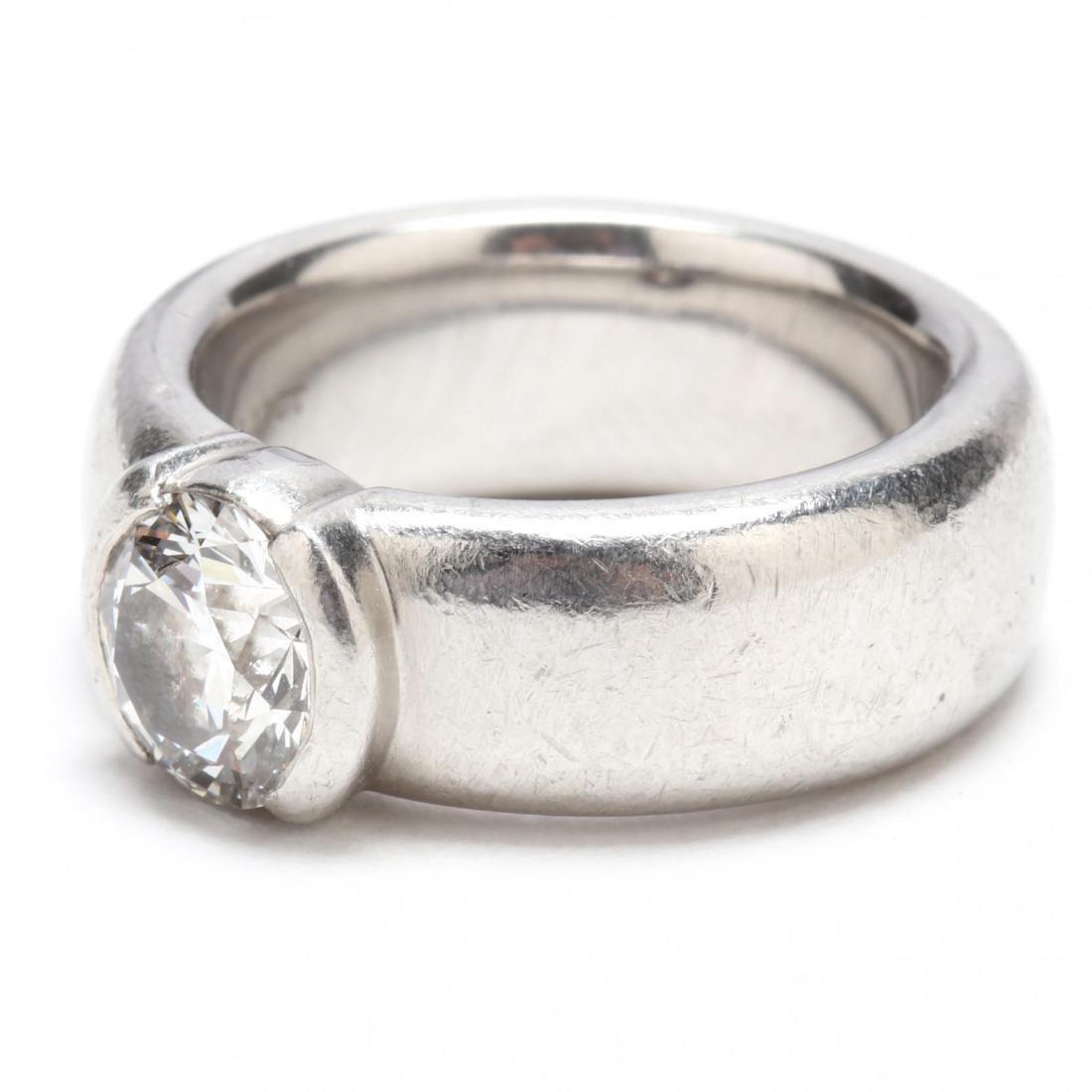 Platinum and Diamond Ring, Tiffany & Co. - 4