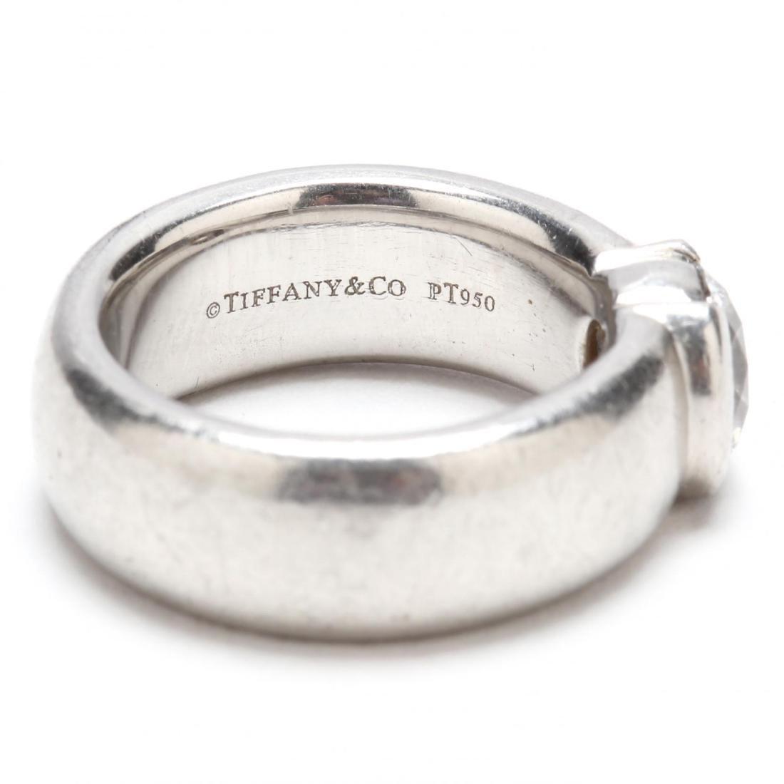 Platinum and Diamond Ring, Tiffany & Co. - 6