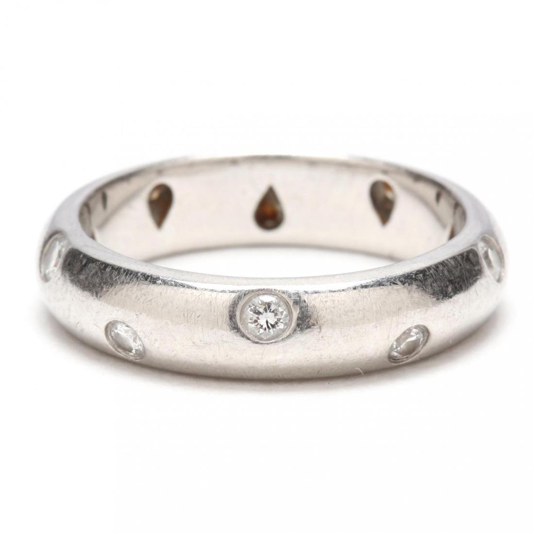 Platinum and Diamond Etoile Ring, Tiffany & Co.