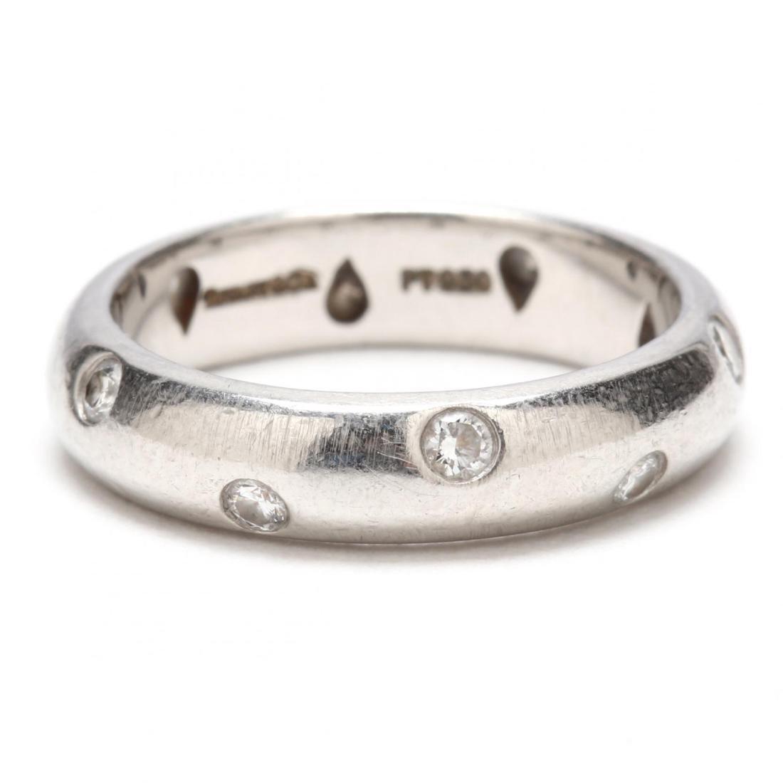 Platinum and Diamond Etoile Ring, Tiffany & Co. - 2