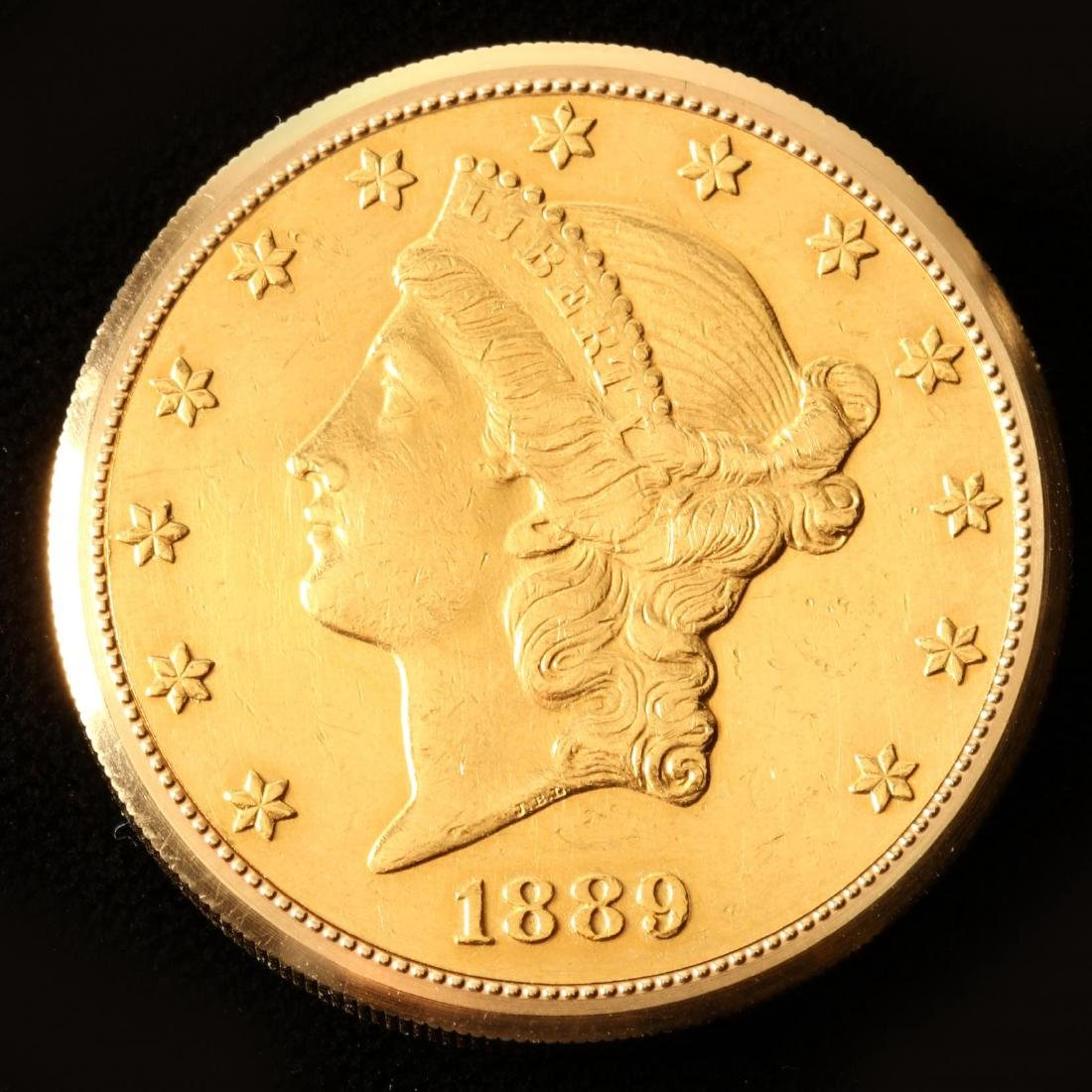 A Twenty Dollar Gold Coin Watch, Golay - 2