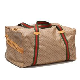 Monogram Weekender Duffle Bag, Gucci