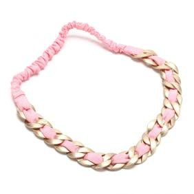Runway Chain and Fabric Headband / Necklace, Chanel