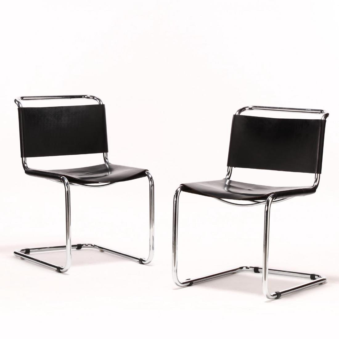 "Ufficio Tecnico, Pair of ""Spoleto"" Chairs"