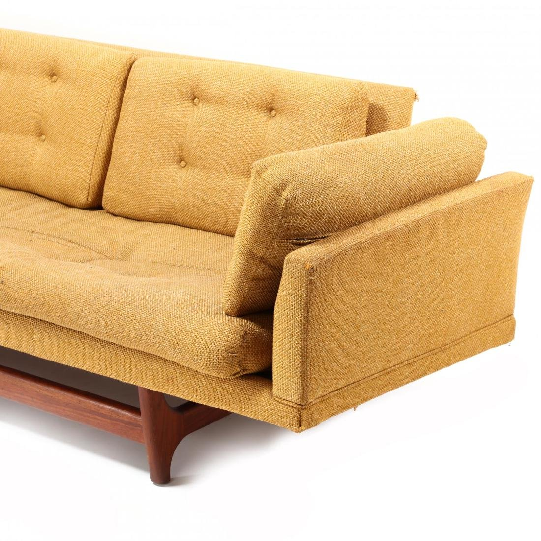 Adrian Persall, Streamlined Modernist Sofa - 4