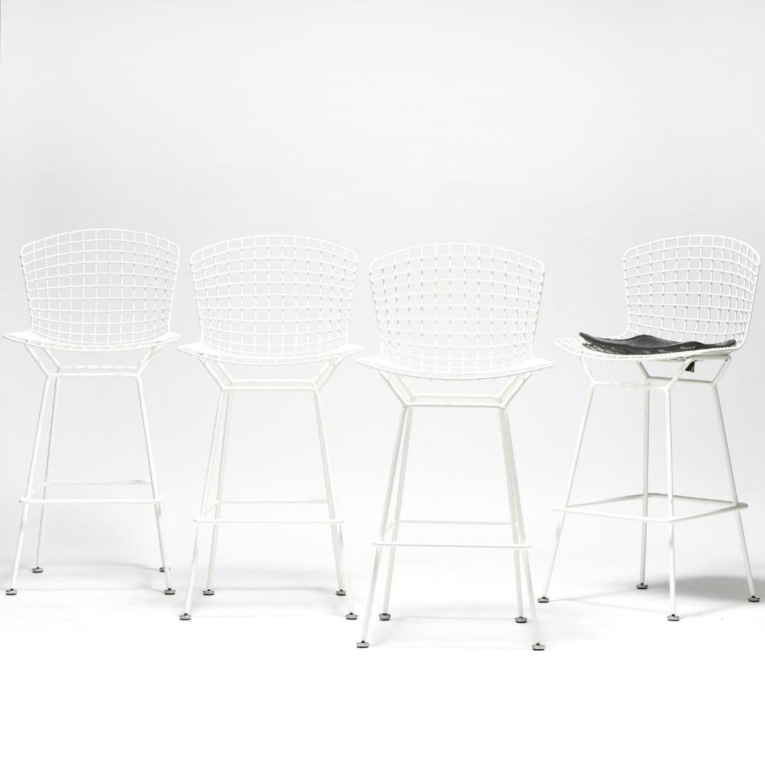 Harry Bertoia, Four Bar Stools