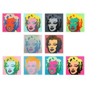 after Andy Warhol (American, 1928-1987), Marilyn