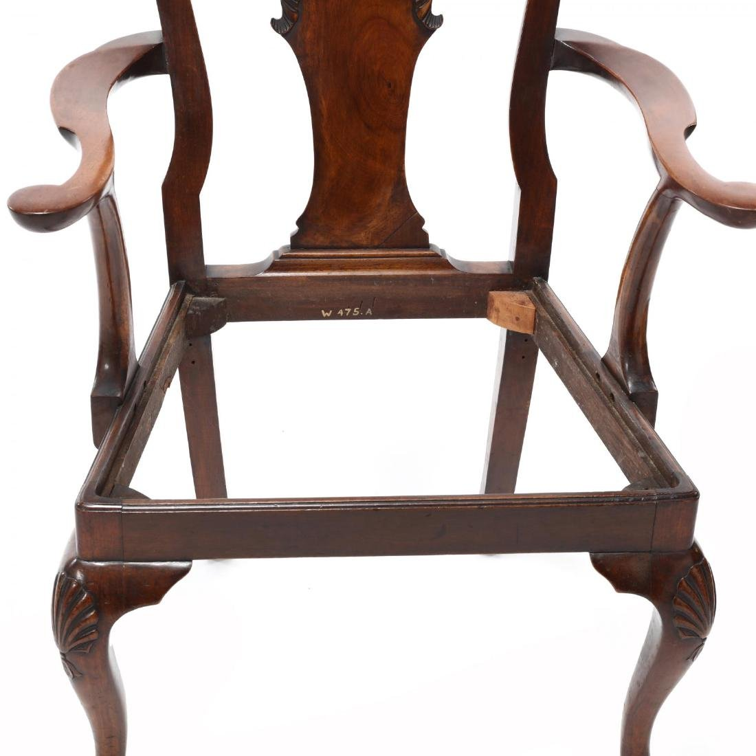 Set of Eight Chippendale Style Carved Dining Chairs - 8