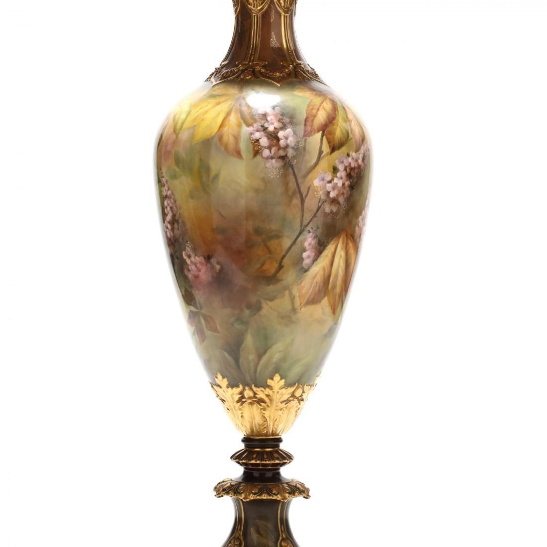 An Impressive Royal Bonn Art Nouveau Portrait Urn - 8