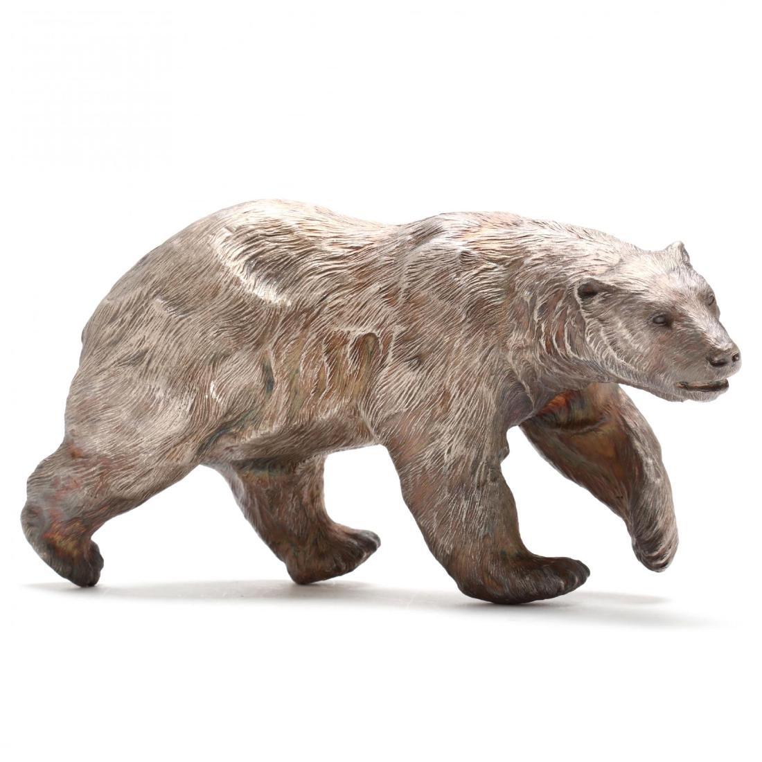 Douglas Van Howd (CA/NV, b. 1935), Standing Polar Bear