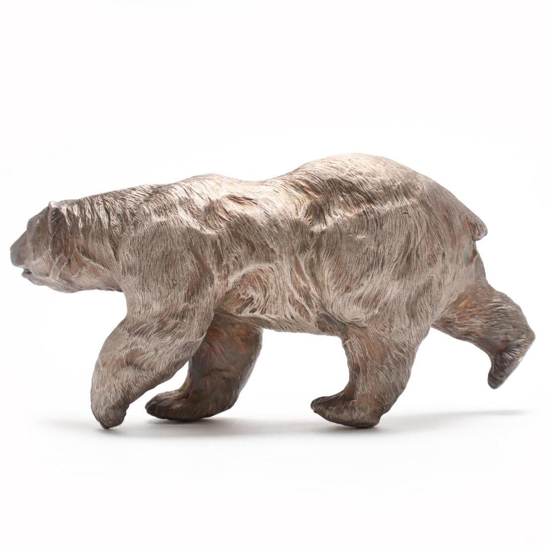 Douglas Van Howd (CA/NV, b. 1935), Standing Polar Bear - 2