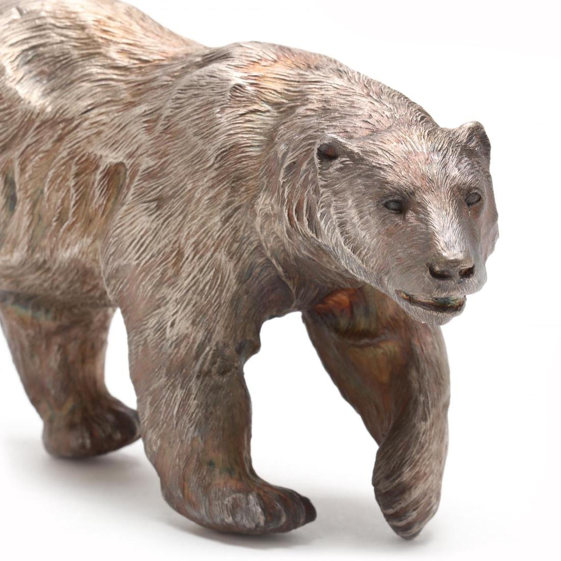Douglas Van Howd (CA/NV, b. 1935), Standing Polar Bear - 3