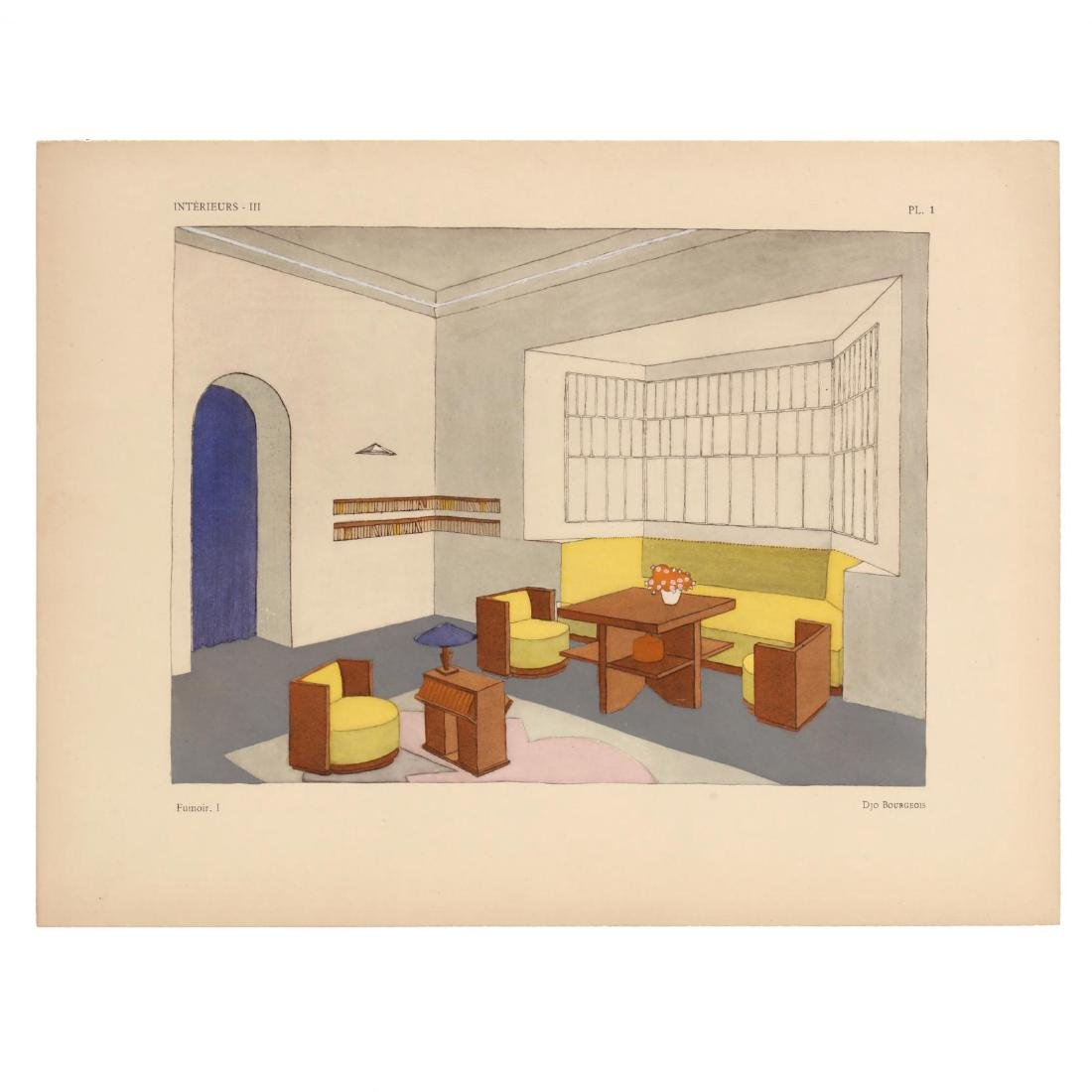 Léon Moussinac, Two Important French Art Deco Interior - 3