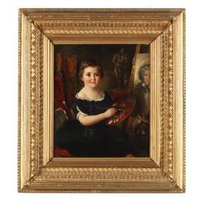 Edwin Frederick Holt (Br., 1830-1912), Portrait of a