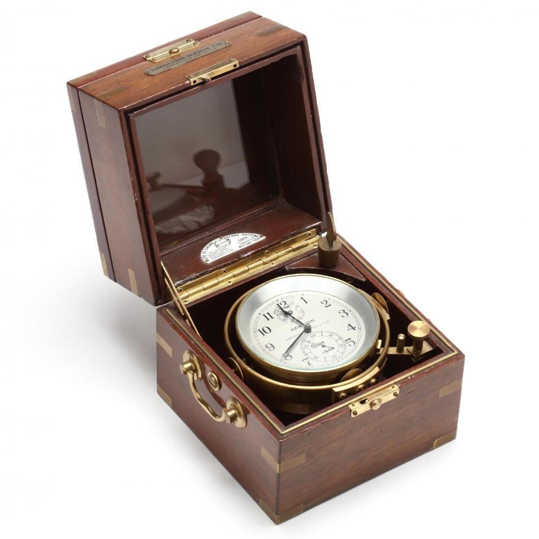 Hamilton Model 21 Ship's Chronometer