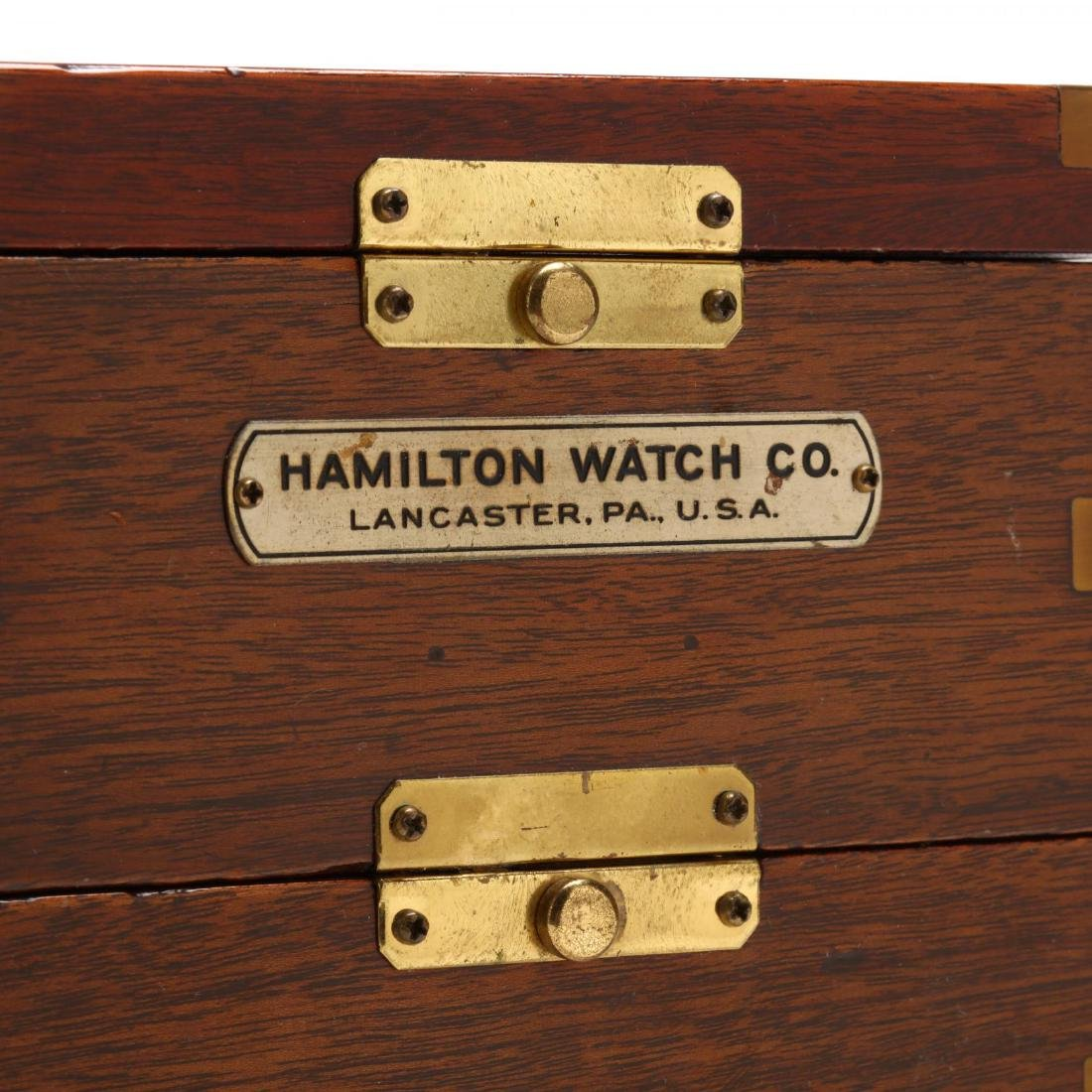 Hamilton Model 21 Ship's Chronometer - 4