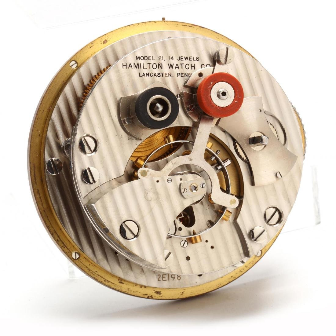 Hamilton Model 21 Ship's Chronometer - 9