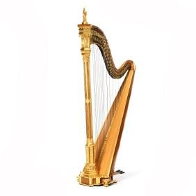 Erard Gothic Grand Concert Harp From the Paris Workshop