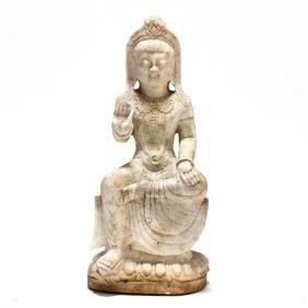 A Sculpture of Avalokiteshvara Bodhisattva