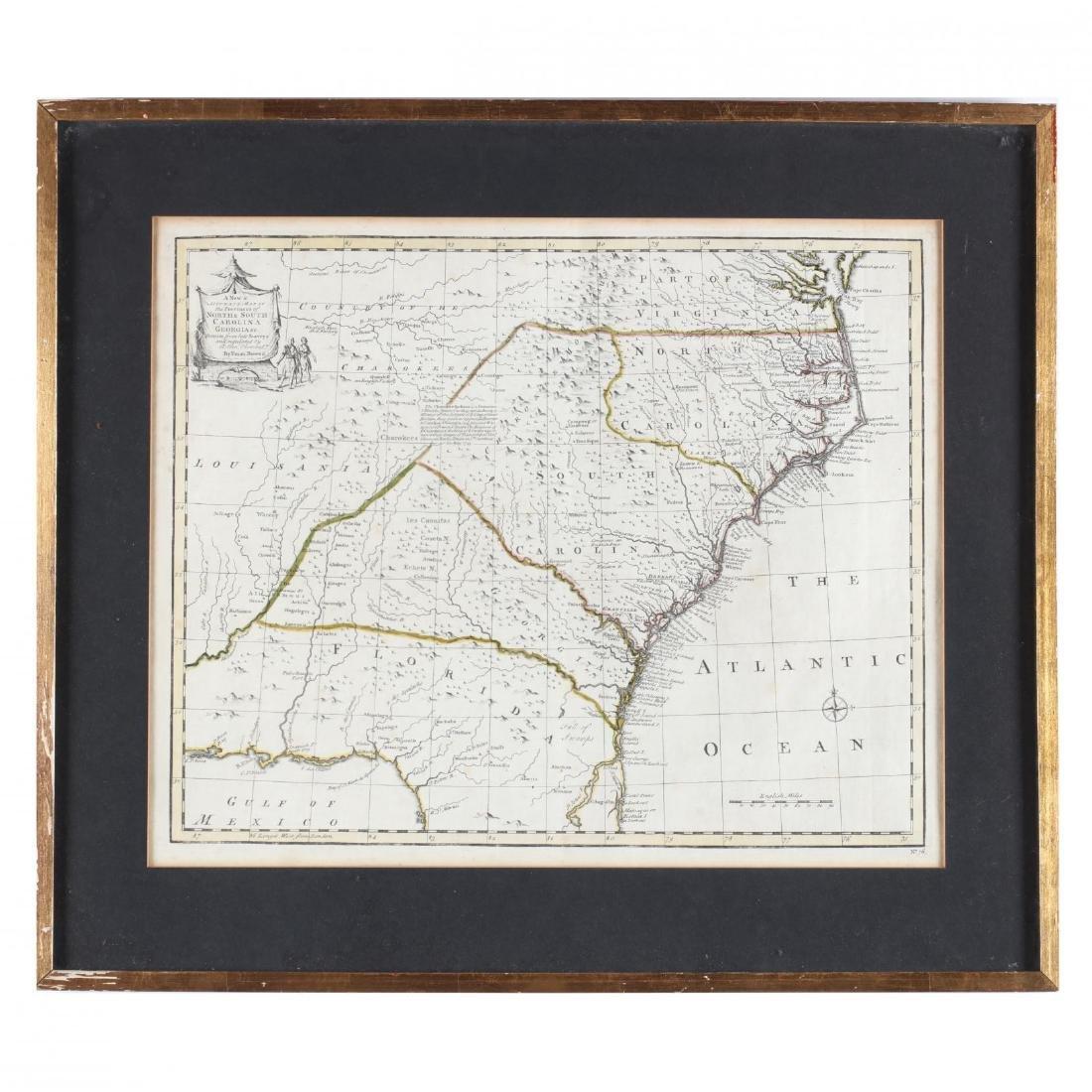 Two Emanuel Bowen Maps Showing the East Coast - 5