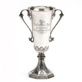 A Gorham Sterling Silver Horse Trophy