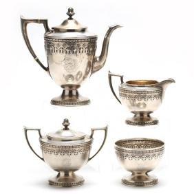 Durgin Sterling Silver Tea Set
