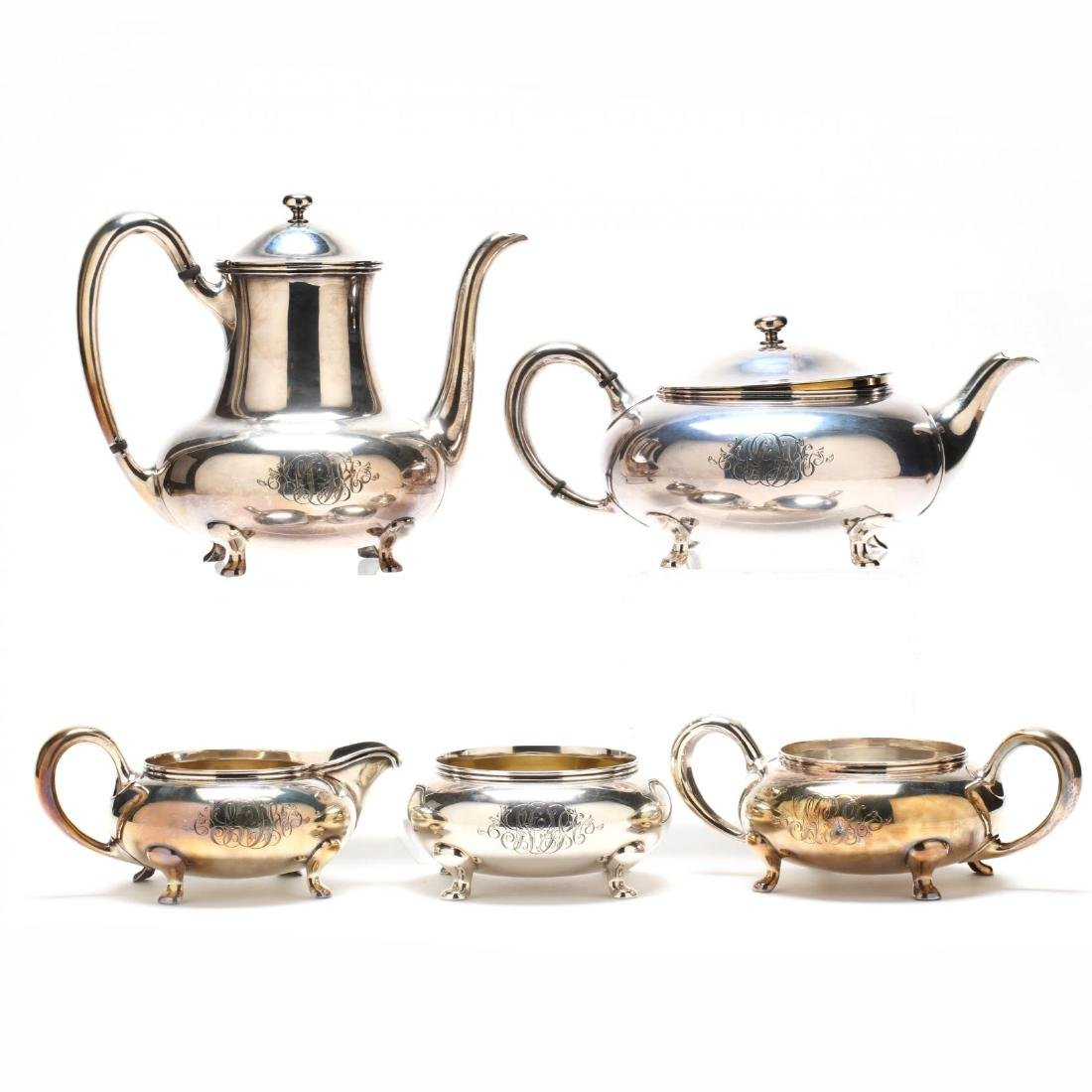 Towle Sterling Silver Tea & Coffee Service