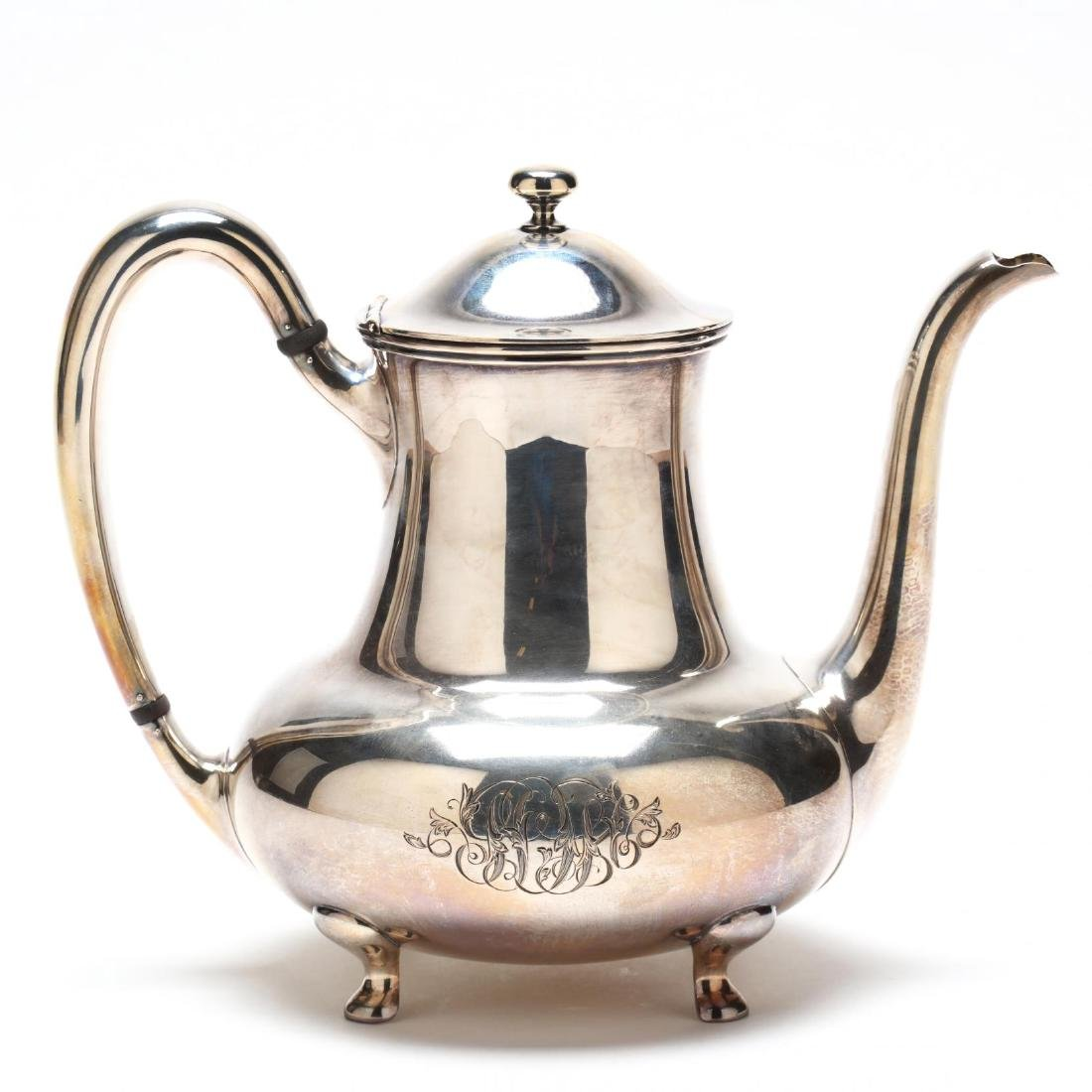Towle Sterling Silver Tea & Coffee Service - 2