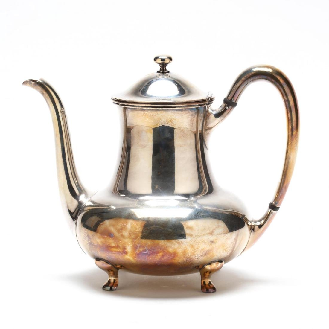 Towle Sterling Silver Tea & Coffee Service - 3