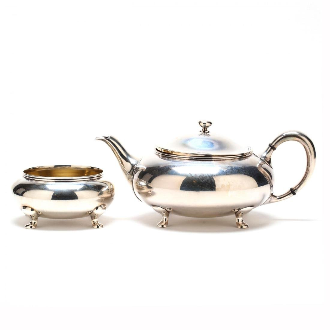 Towle Sterling Silver Tea & Coffee Service - 6