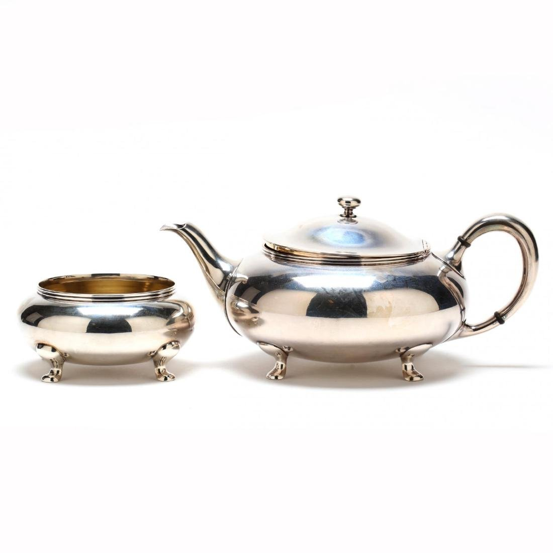 Towle Sterling Silver Tea & Coffee Service - 7